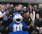 Colts thank city workers on Blue Friday