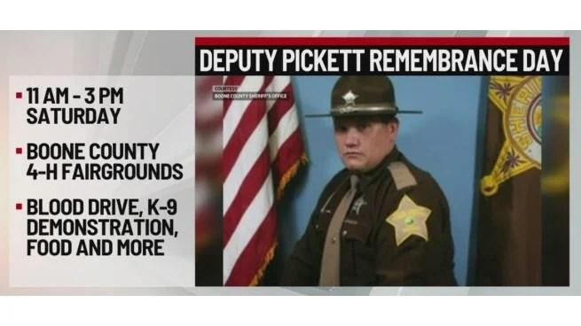 Deputy Jake Pickett Remembrance Day set for Saturday