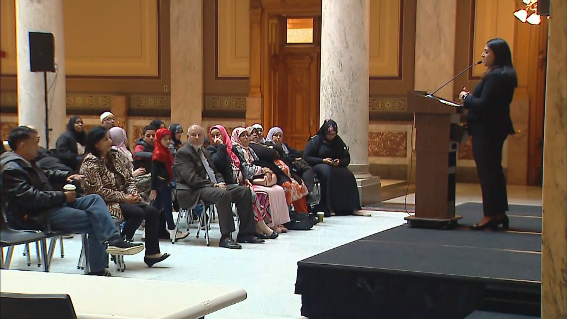 6th annual Muslim Day at Indiana Statehouse