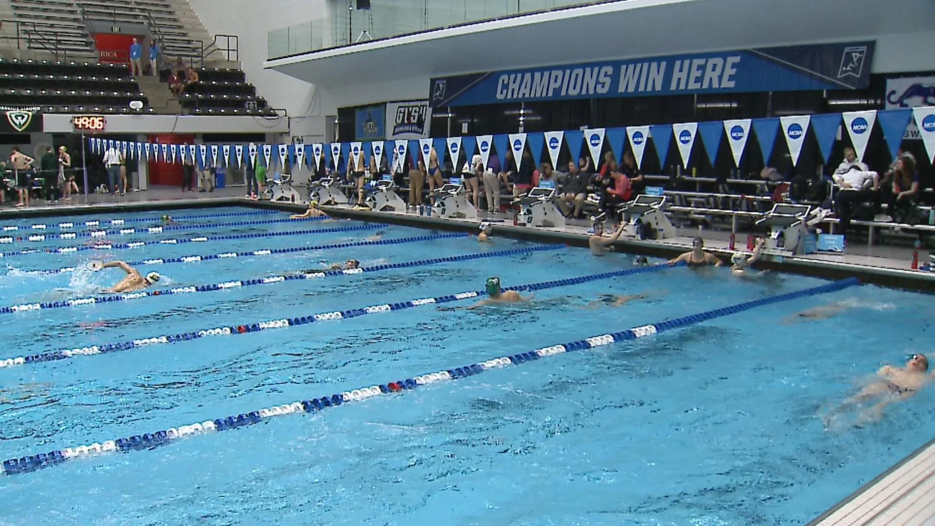 NCAA swimming and diving championships begin at IU Natatorium at IUPUI
