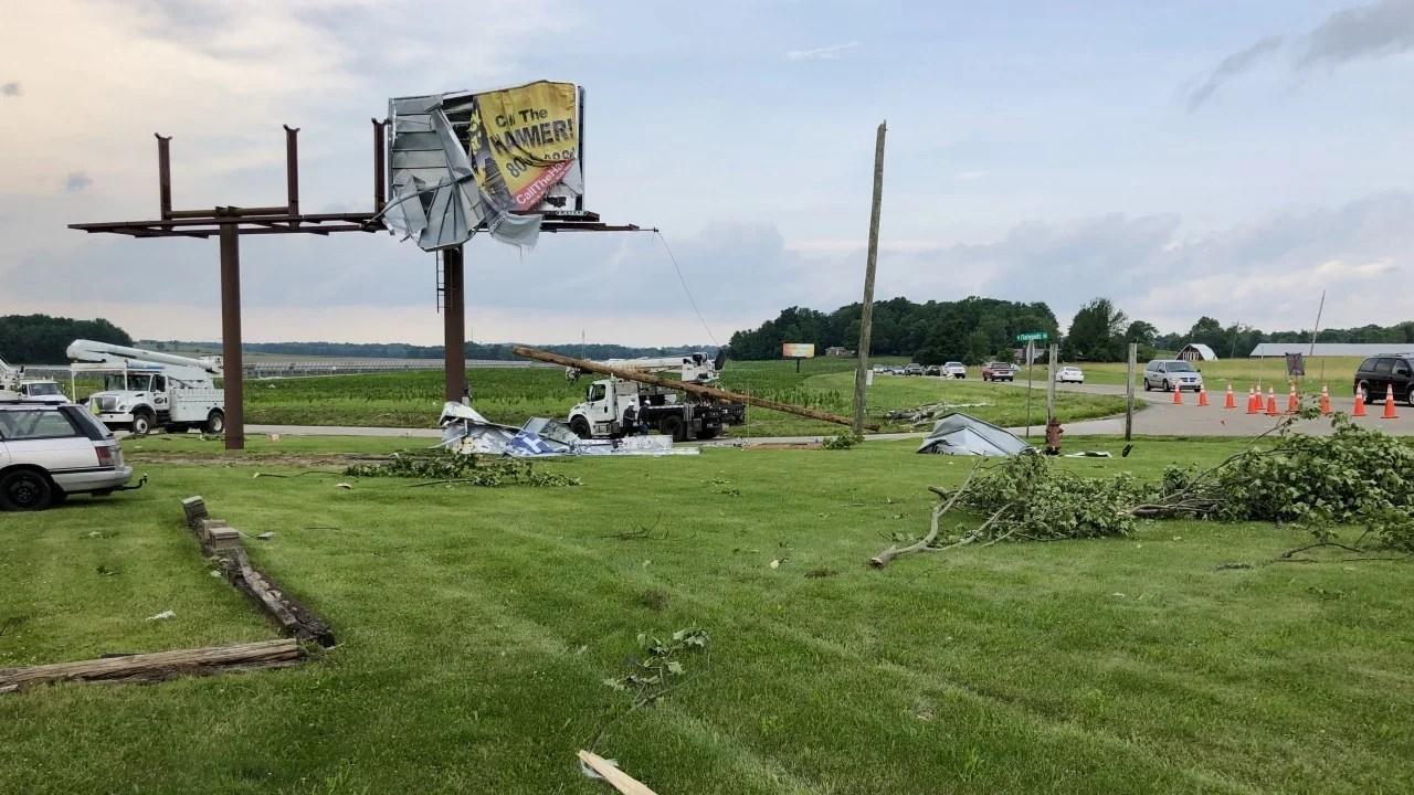 Monroe County tornado