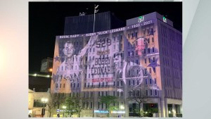 Light show honors former Pacers coach, radio analyst Bobby 'Slick' Leonard