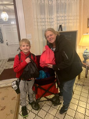 Fishing boy hopes to deliver 3,000 bags of blessing to homeless people – WISH-TV |  Indianapolis News |  Weather Indiana