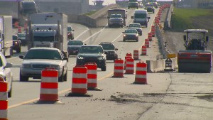 Downtown construction compounding North Split closure headaches
