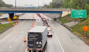North Split closure forces drivers to take alternative routes