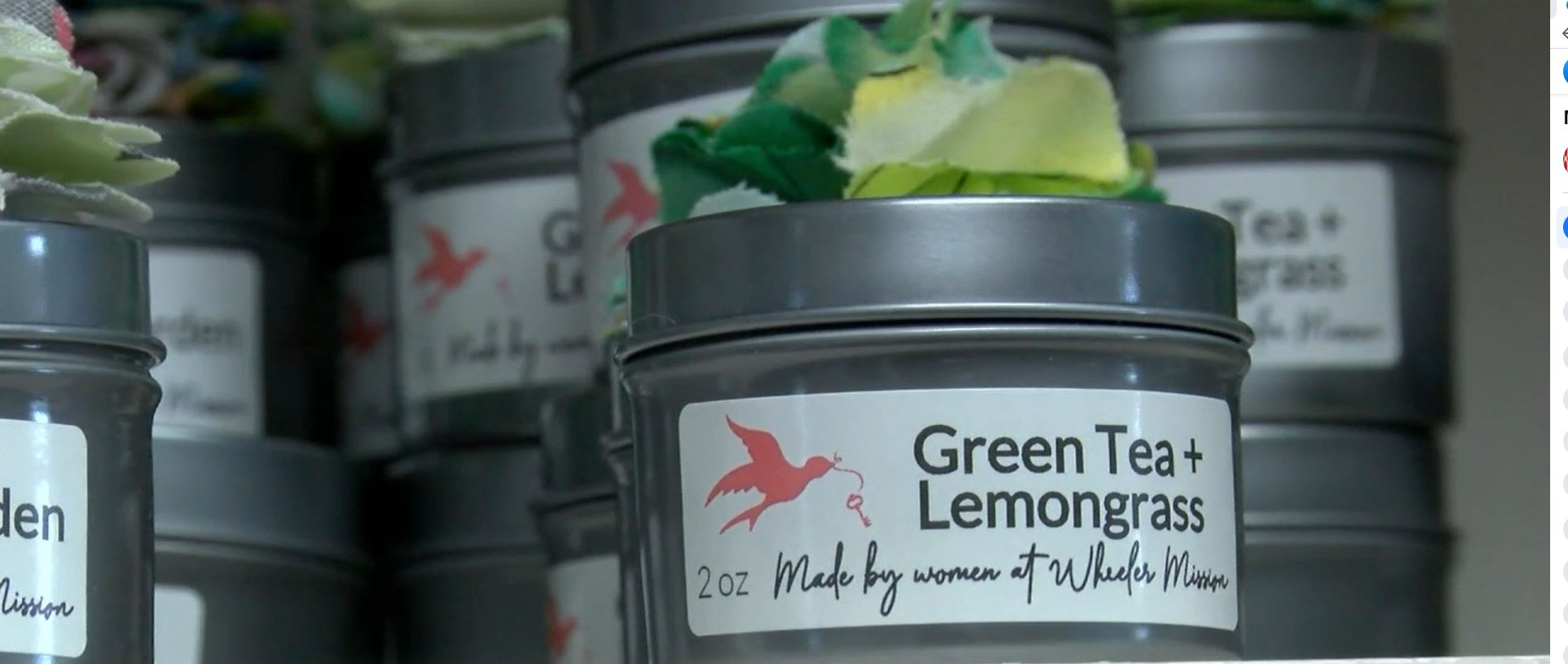 Making candles gives women dealing with addiction, domestic violence hope
