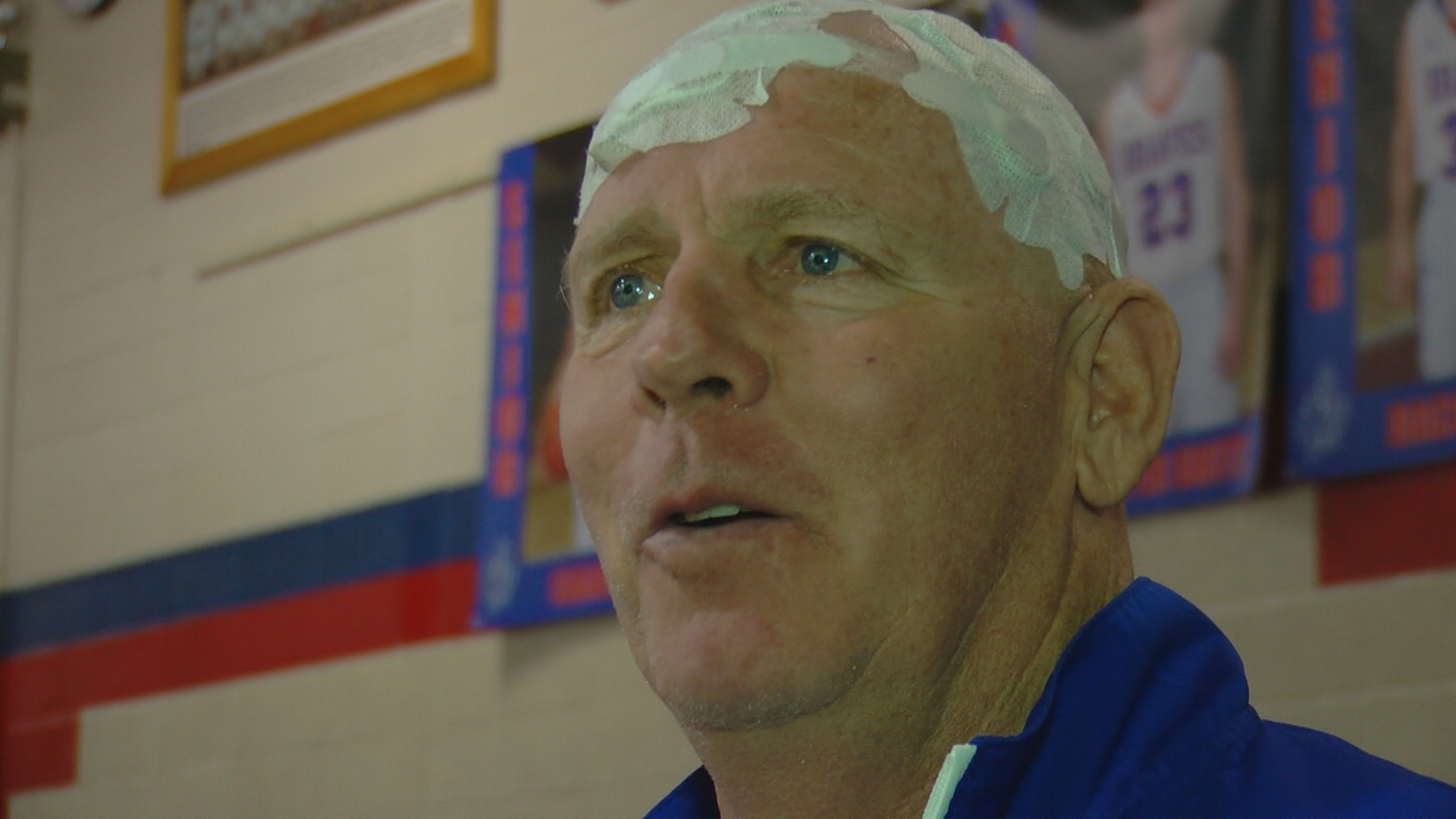 High school basketball coach defies cancer prognosis