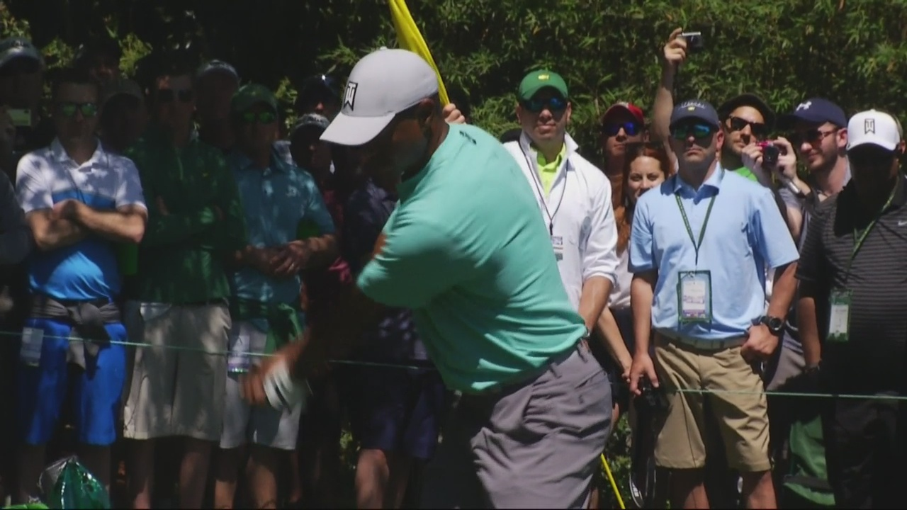 Saturday at the Masters means a big day for fans of Tiger Woods