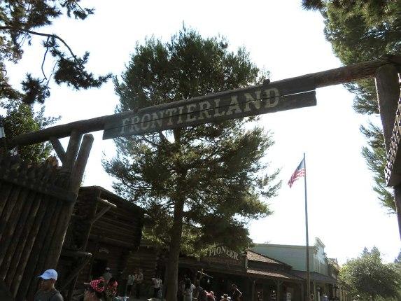 Frontierland Disneyland