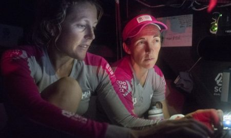 Libby Greenhalgh & Sam Davies - Team SCA