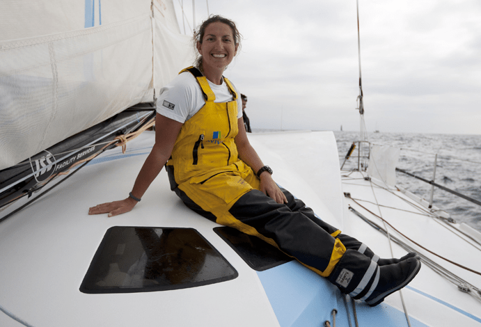 Dee Caffari, Volvo Ocean Race, Turn the Tide on Plastic
