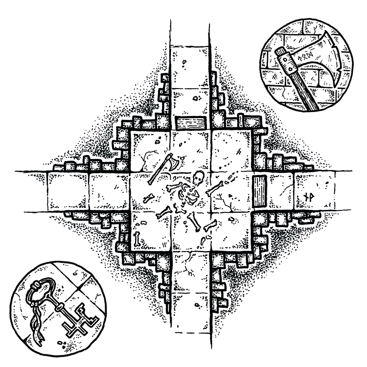 Fantasy and science fiction maps for roleplaying games
