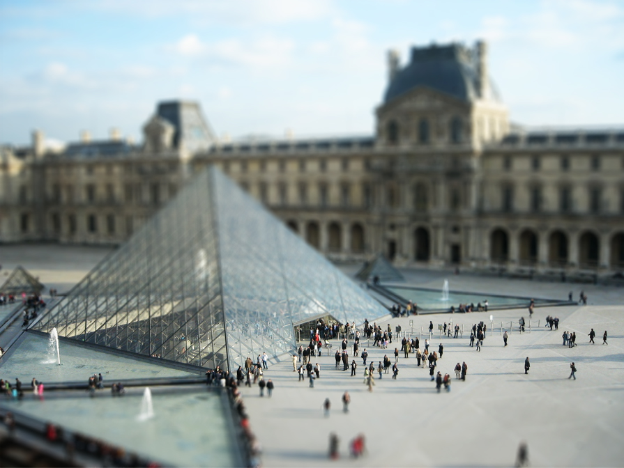 Tuto photo, effet Tilt-Shift (photo miniature / maquette)