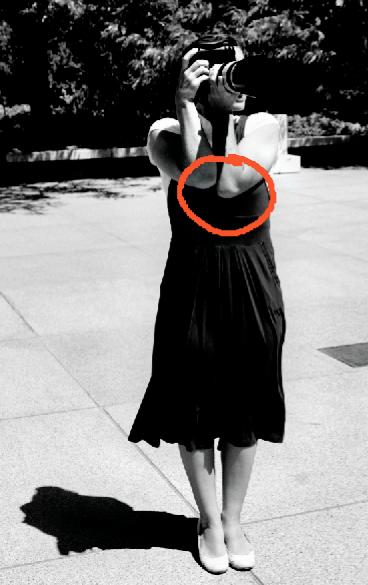 conseils pour stabiliser l'appareil photo les coudes