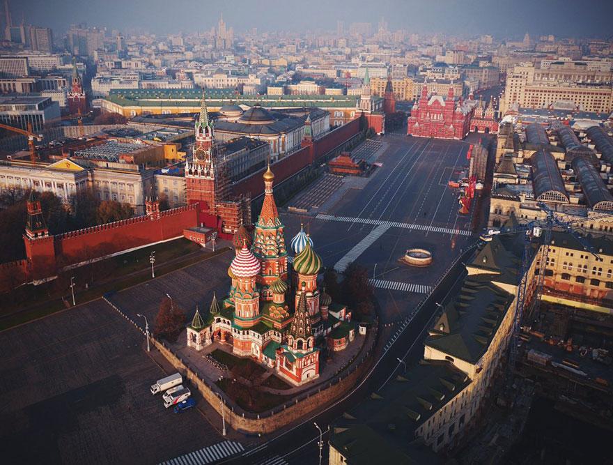 Cathédrale Saint-Basile-le-Bienheureux (Moscou) Photo : Amos Chapple