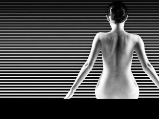 photo noir et blanc et formes