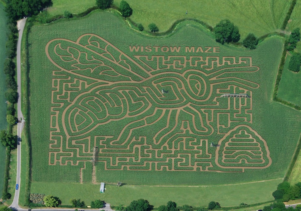 The Wistow Maze  Wistow  a beautiful and historic