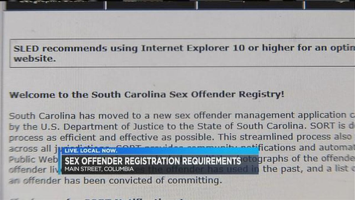 Sex offenders listing fake addresses on SC registry causes concern for business owners
