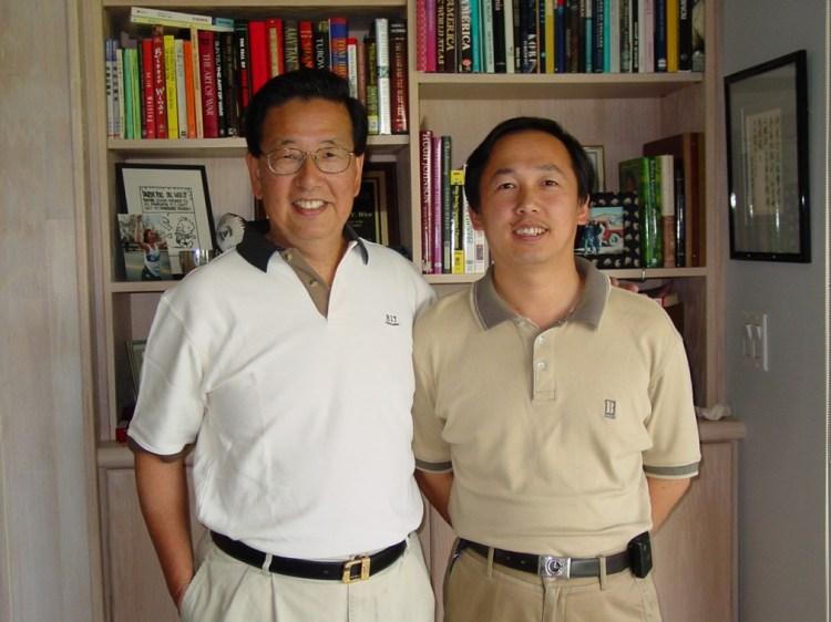 Zhaozhu Li and Dr Woo