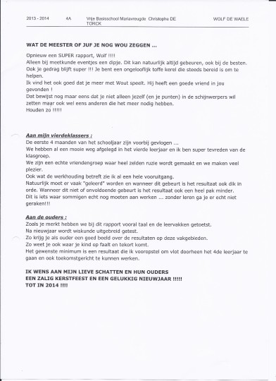 rapport Wolf 13-12.3