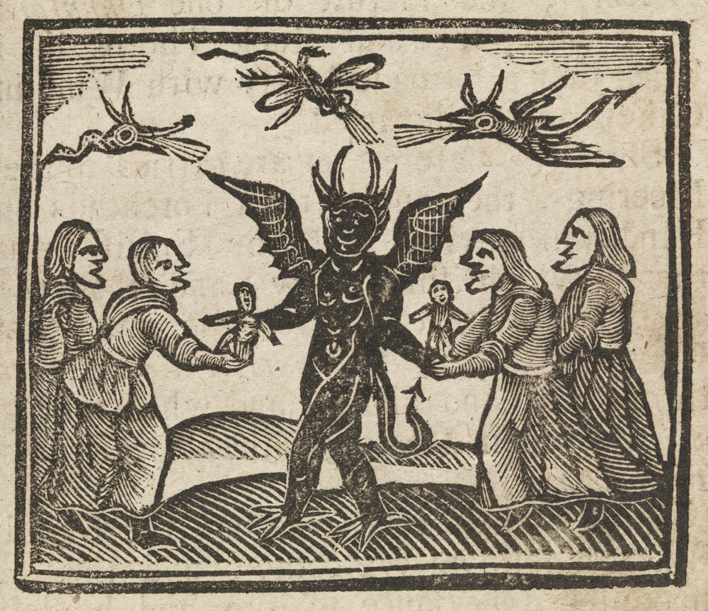 Accused Of Witchcraft 1620-1691