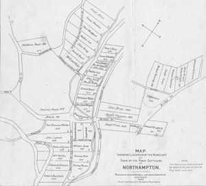 Northampton, Massachusetts map