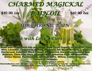A Charmed Magickal Pain Oil for Chronic Pain
