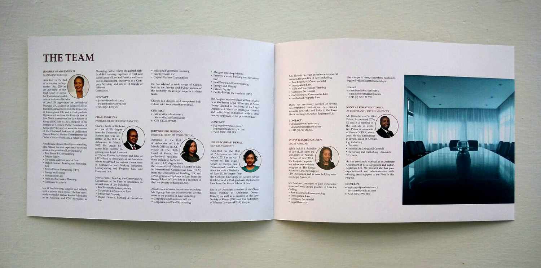 J W Nduati  Associates Profile Design  Wit Design Kenya