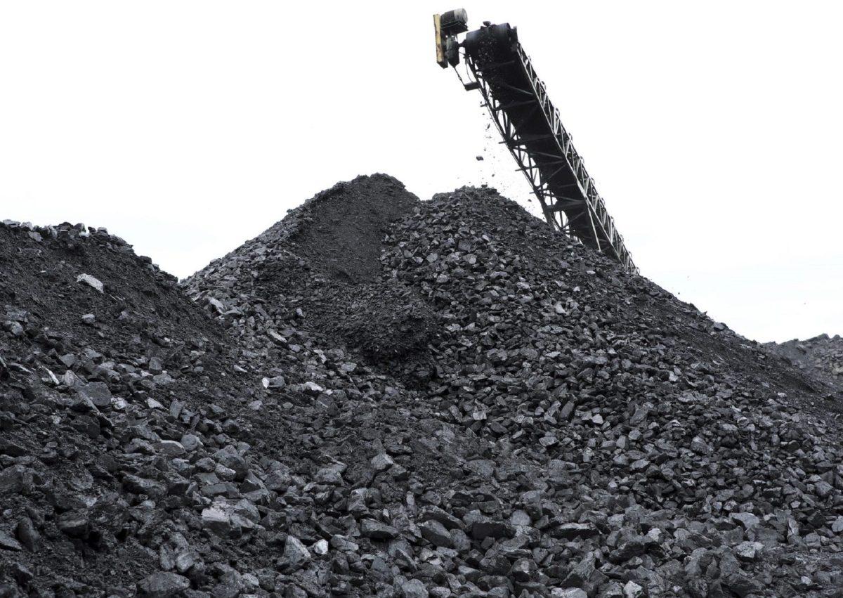 Coal Pile in Pennsylvania