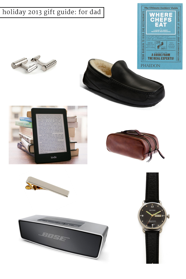 holiday gift guide: for dad