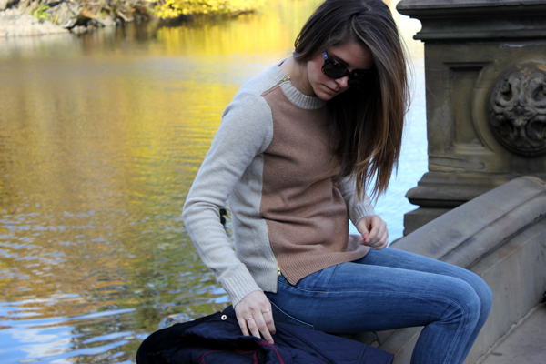 outfit: colorblocked | via withach.com