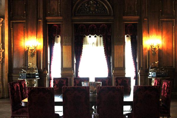 vanderbilt mansion hyde park dining room
