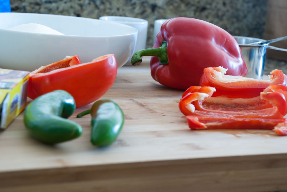 Red Pepper and Jalapeno