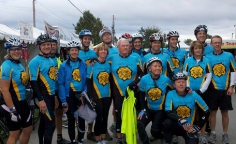Team Carpe Diem in Bike MS