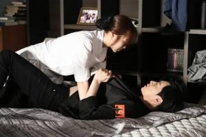 Soo Ae in Bong Seon's body is very goal oriented.