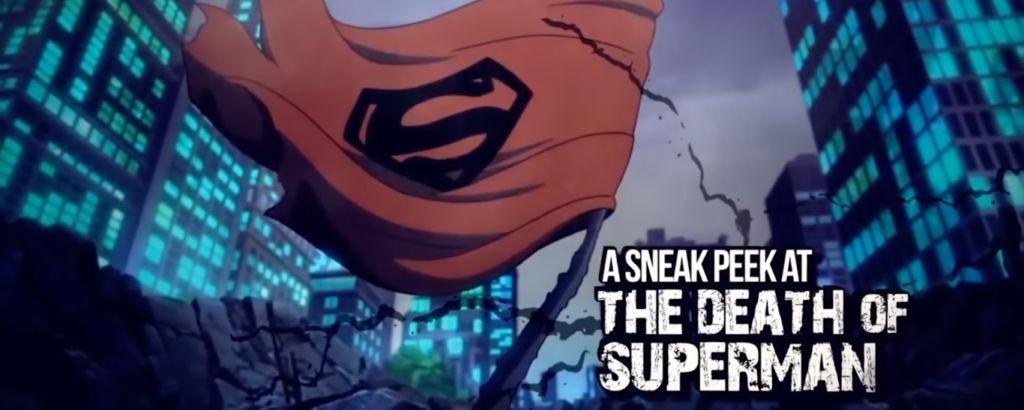 death of superman banner