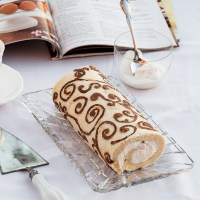 A Decorated Swiss Roll For Mom