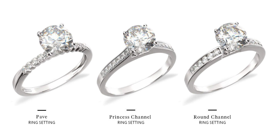 What Is A Channel Set Engagement Ring, And Is It Right For Me?