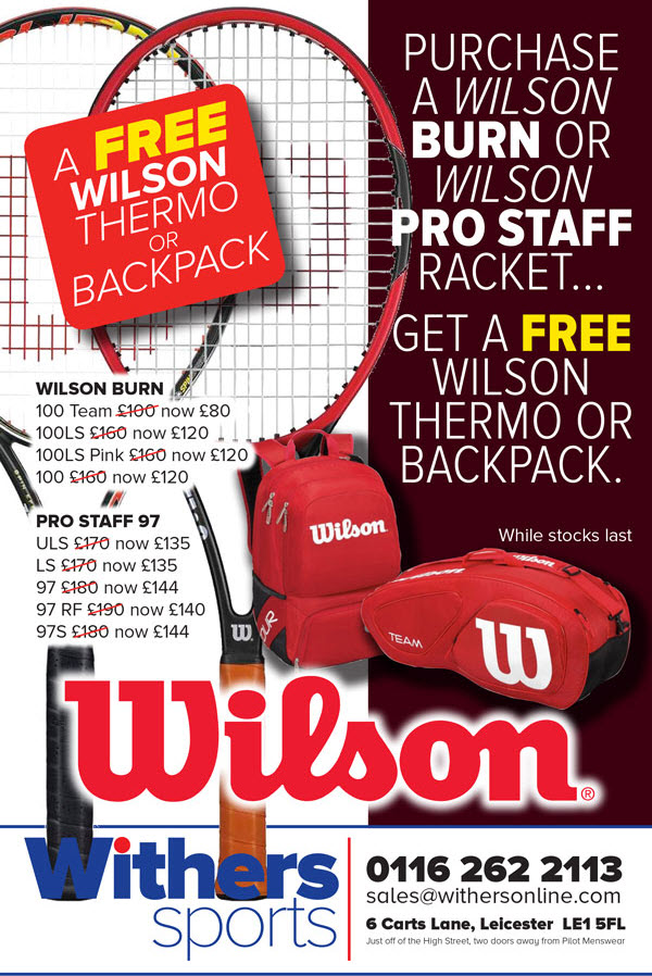 Wilson Tennis Bag Promotion