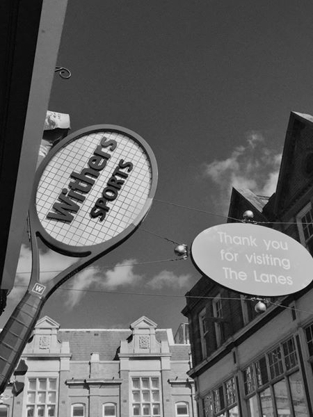 Withers - open again b&w