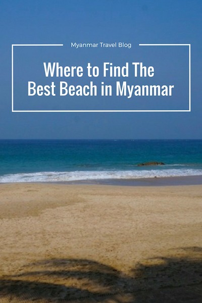 best beach in Myanmar