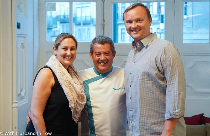 Chef Rui Paula DOP Porto