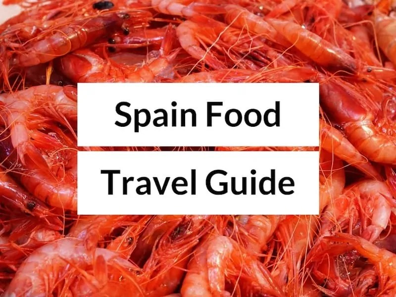 Spain Food Travel Guide