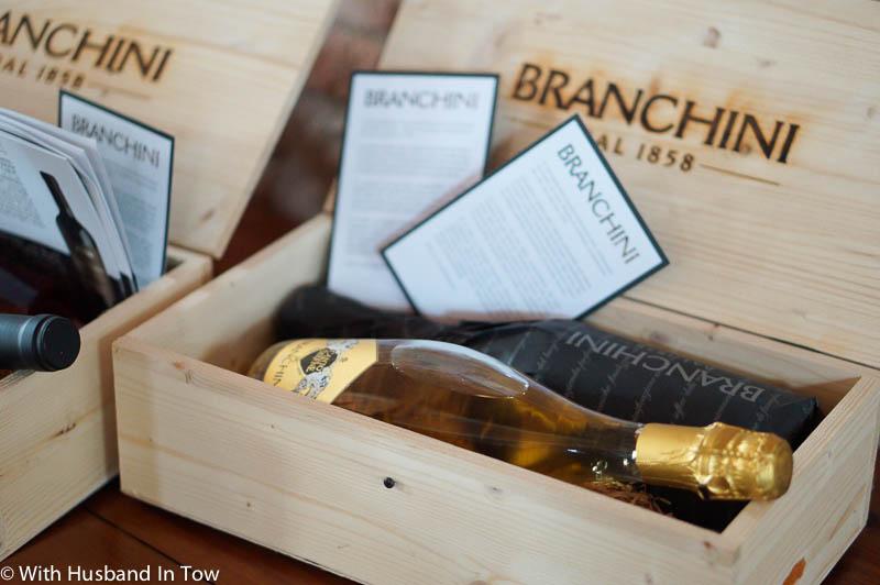 Tasting Albana at Italy's Branchini winery