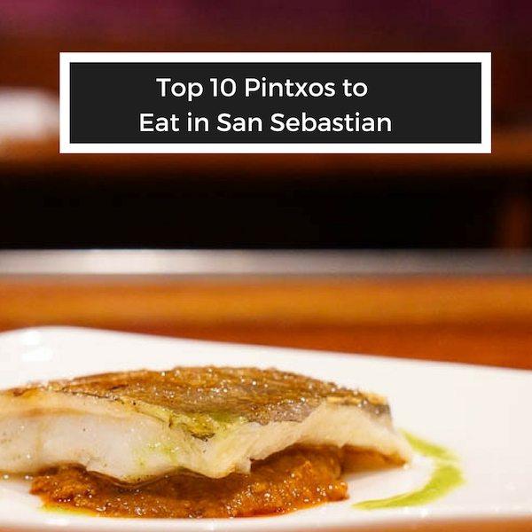 San Sebastian food travel guide