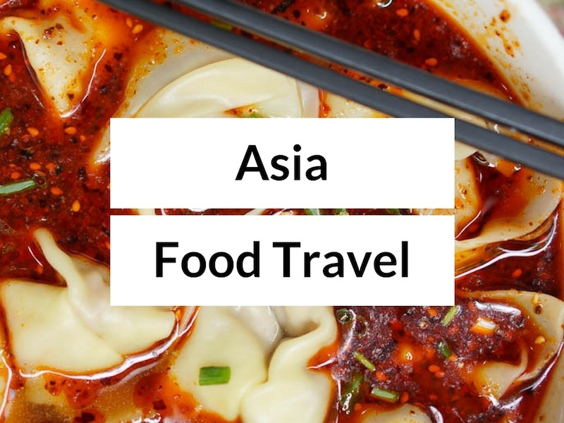 Asia food and travel guides