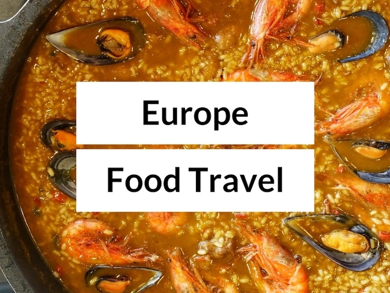 Europe Food and Travel Blogs