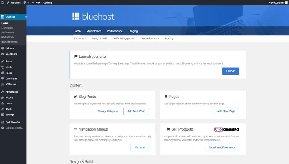 Wordpress Bluehost Starting a Travel Blog
