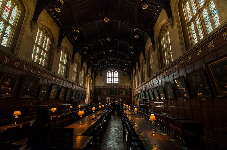 Oxford dining hall