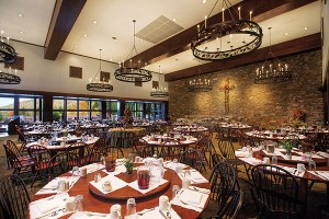 The Cove dining room